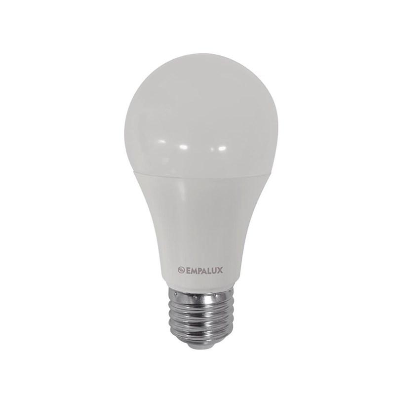 Lâmpada LED Bulbo 9W Luz Branco Quente Bivolt Empalux