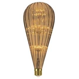 Lâmpada LED Filamento Fireworks 2W Luz Âmbar Taschibra