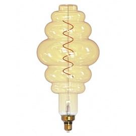 Lâmpada LED Filamento Giant Colméia 4W Luz Âmbar E27 Bivolt Taschibra