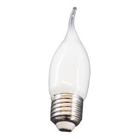 Lâmpada LED Filamento Vela Chama Fosco 2.5w 2700k 250lm Bivolt Osram