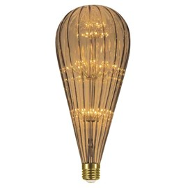 Lâmpada LED Fireworks BT125 2W Luz Âmbar Bivolt Taschibra