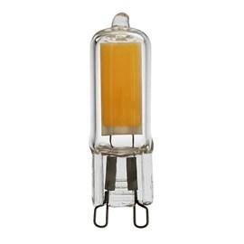 Lâmpada LED Halopin Glass 2W Luz Amarela 127V Osram