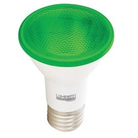 Lâmpada LED PAR 20 6W Verde IP65 Bivolt Luminatti