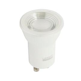 Lâmpada Mini Dicróica LED 4W Luz Branco Quente Bivolt GU10 Luminatti