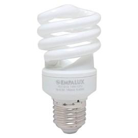 Lâmpada Mini Espiral 15W 127V Luz Branca Empalux