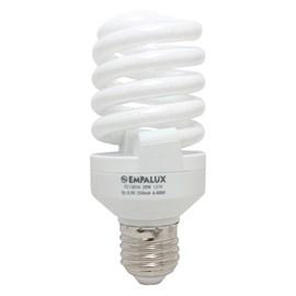 Lâmpada Mini Espiral 20W 127V Luz Branca Empalux