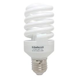 Lâmpada Mini Espiral 20W 220V Luz Branca Empalux