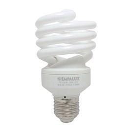 Lâmpada Mini Espiral 25W 127V Luz Branca Empalux