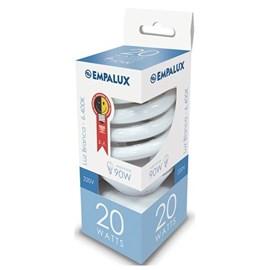 Lâmpada Mini Espiral 25W 220V Luz Branco Frio Empalux
