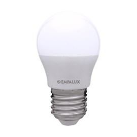 Lâmpada Mini Globo LED 4,9 W Luz Branco Quente Bivolt E27 Empalux