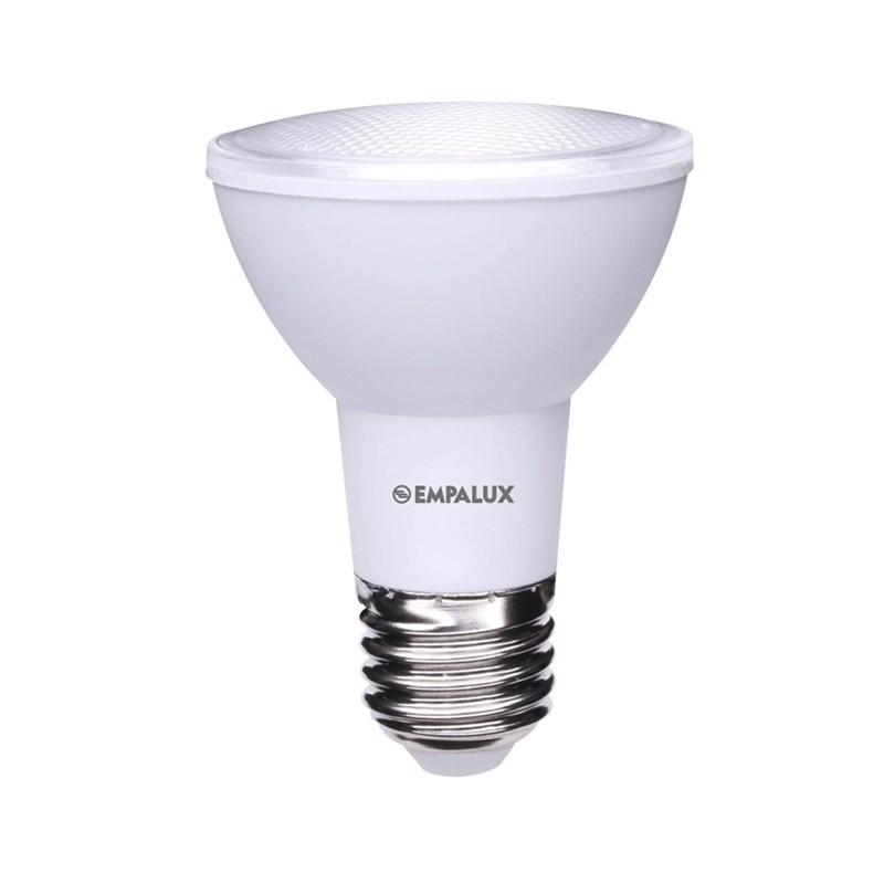 Lâmpada PAR 20 LED 7W Luz Branco Quente Bivolt E27 Empalux