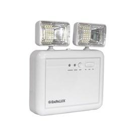 Luminária de Emergência LED 1200 Lumens e 2 Faróis Empalux