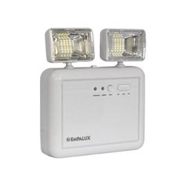 Luminária de Emergência LED 2200 Lumens e 2 Faróis Empalux