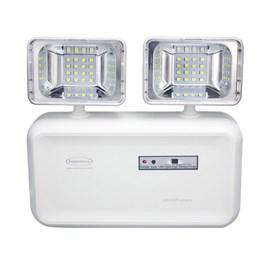 Luminária de Emergência LED 600 Lumens e 2 Faróis Segurimax