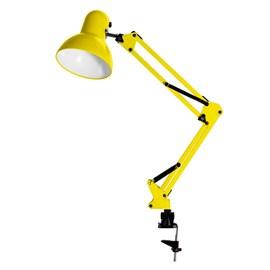 Luminária de Mesa Articulada com Garra Amarela G20