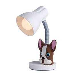 Luminária de Mesa Bulldog Marrom Startec