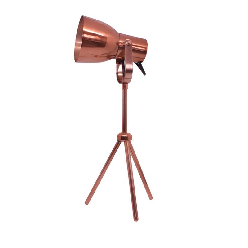 Luminária de Mesa City Cobre Polido Spotline