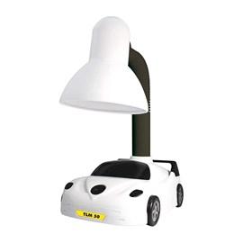 Luminária de Mesa Kids Carrinho Branco TLM50 Taschibra