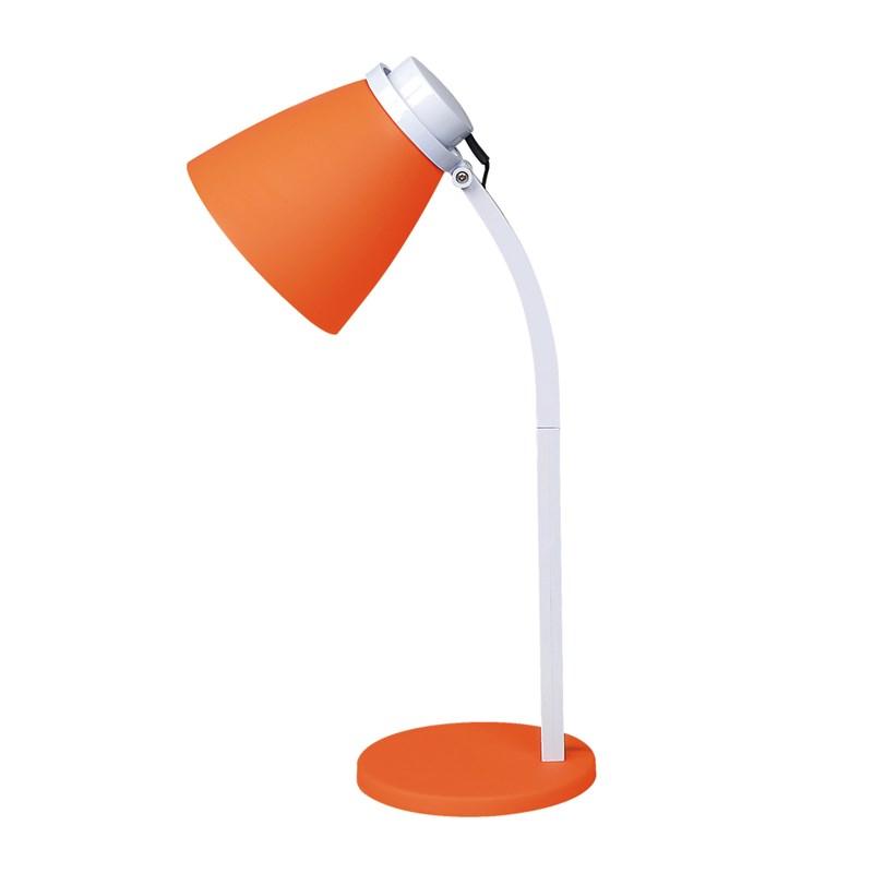 Luminária de Mesa LED Supimpa Laranja 4W Luz Branca Bivolt Avant