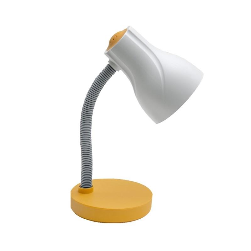 Luminária de Mesa Spiralle Amarelo E27 Bivolt Startec