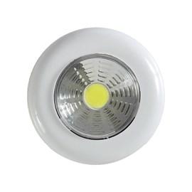 Luminária de Sobrepor Redondo LED 1,5W Touchlight Signature Luz Branco Frio Avant