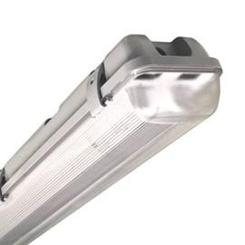 Luminária Hermética 2 Lâmpadas 10W IP65 65cm Empalux