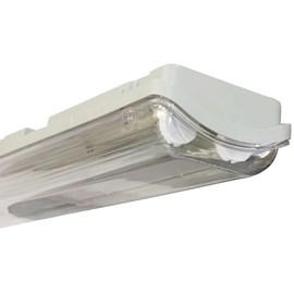Luminária Hermética 2 Lâmpadas 20W IP65 127cm Empalux