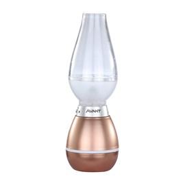 Luminária Lampião LED Regarregável Luz Branco Quente Avant