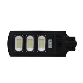 Luminária LED Pública Energia Solar 90W IP65 Luz Branco Frio Power XL