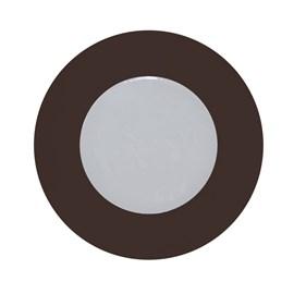Luminária para Móvel Marrom LED Luz Branca Bivolt Diodo