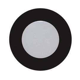 Luminária para Móvel Preto LED Luz Amarela Bivolt Diodo