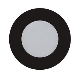 Luminária para Móvel Preto LED Luz Branca Bivolt Diodo