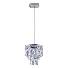 Lustre LED Mini Florença Cromado 9W Luz Branca Bivolt Startec