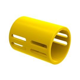 "Luva Corrugado 20mm 1/2"" Amarelo TigreFlex"