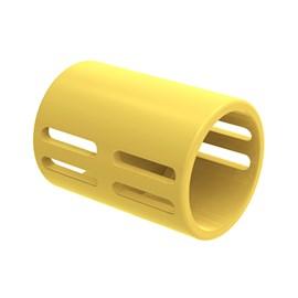 "Luva Corrugado 32mm 1"" Amarelo TigreFlex"
