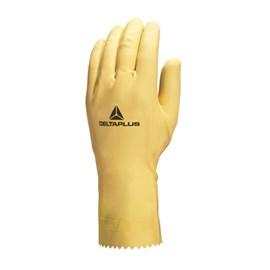 Luva Latex Amarela 3 Tamanho G Deltaplus