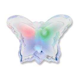 Luz Noturna Borboleta LED RGB 0,3W 127V Bronzearte