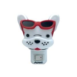 Luz Noturna Bulldog LED Luz Amarela 1W Bivolt Avant