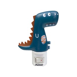 Luz Noturna Dinossauro LED Luz Branco Quente 1W Bivolt Avant