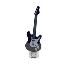Luz Noturna Guitarra LED Luz Branco Quente 1W Bivolt Avant