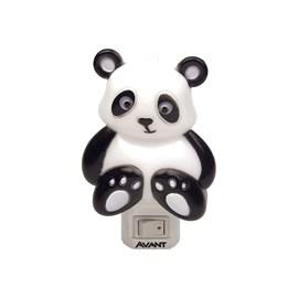 Luz Noturna Panda LED Luz Amarela 1W Bivolt Avant