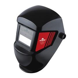 Máscara de Solda Auto Escurecimento a Pilha WK71 Preta Worker