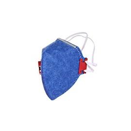 Máscara Descartável sem Válvula Azul Worker