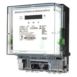 Medidor De Consumo Bifásico 120/240V 15/120A 3 Fios LCD Eletro Flissak