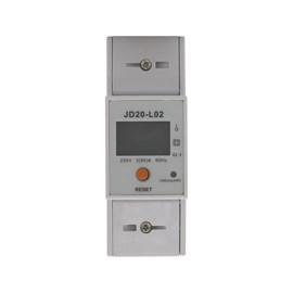 Medidor de Consumo Bifásico JD20-IO2 KW/H 220V 80A Jng