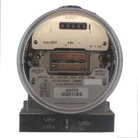 Medidor De Consumo Trifásico 220V 15-120A 4 Fios 3 Elementos Eletro Flissak