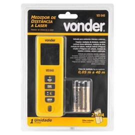 Medidor de Distância a Laser 40m Vonder