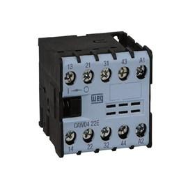Mini Contator Auxiliar CAW04-22-00V25 2NA+2NF WEG