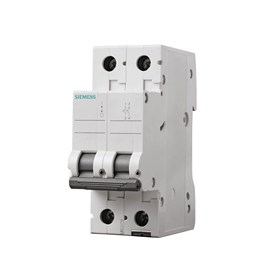 Mini Disjuntor C Bipolar 10A Siemens
