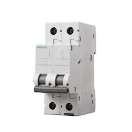 Mini Disjuntor C Bipolar 25A Siemens